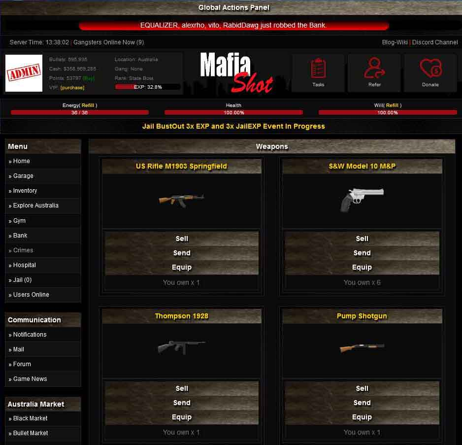 Online Mafia Game