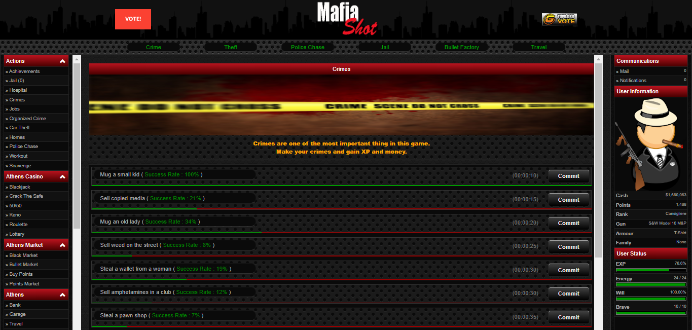 MafiaShot ScreenShots